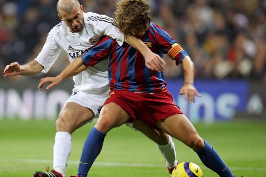 2004-2006. Le Real distancé par son rival le FC Barcelone