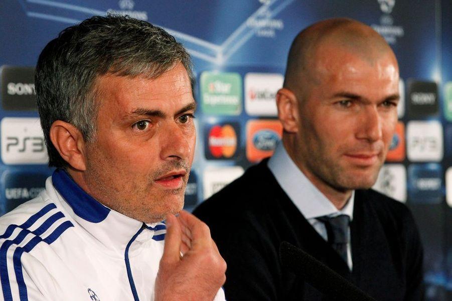 2010. Directeur sportif aux côtés de Jose Mourinho