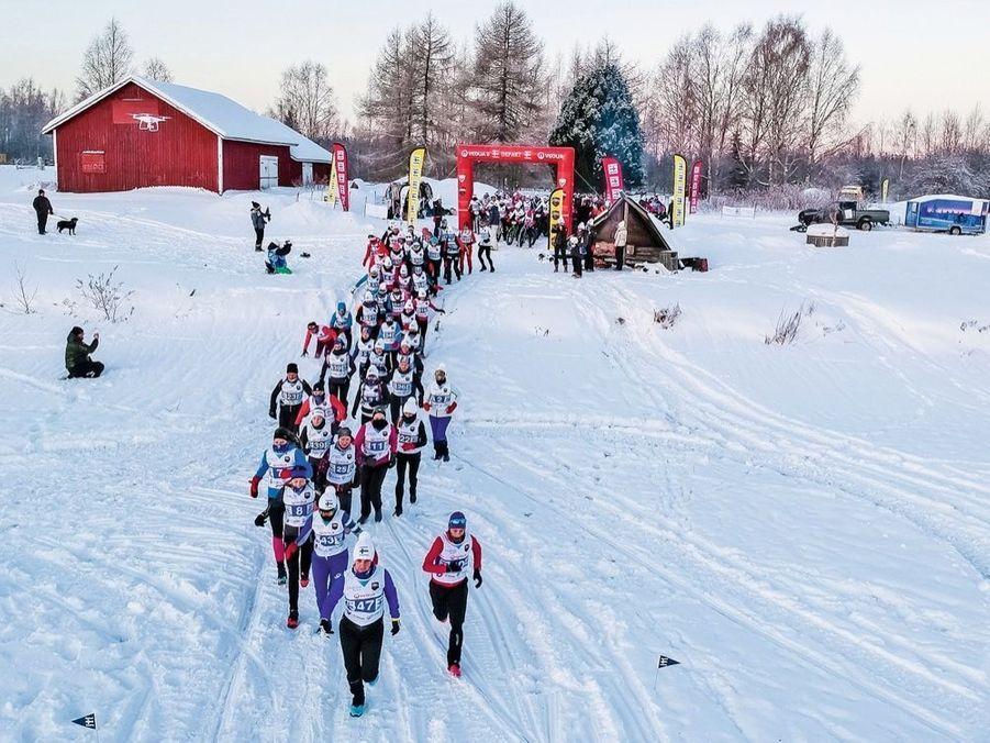 Le 26 janvier, J1, le grand départ. 102 participantes s'élancent.