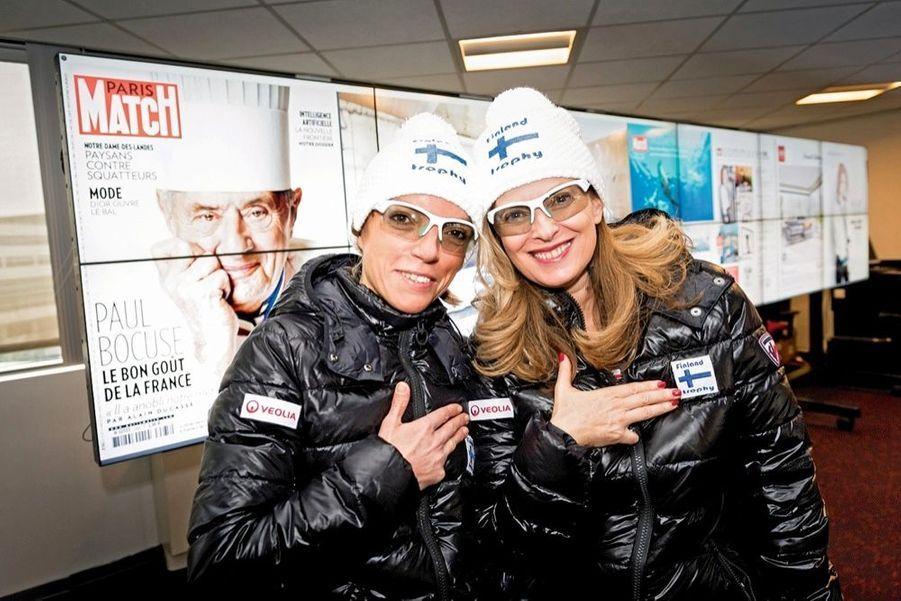 Nos équipières, Paola Sampaio-Vaurs et Valérie Trierweiler, n'ont jamais oublié Françoise, leur amie de Paris Match, emportée par un cancer du sein à 46 ans en 2003.