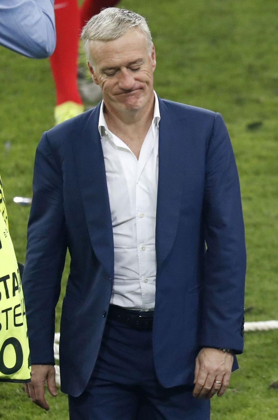 La détresse des Français à l'issue de la finale de l'Euro 2016.