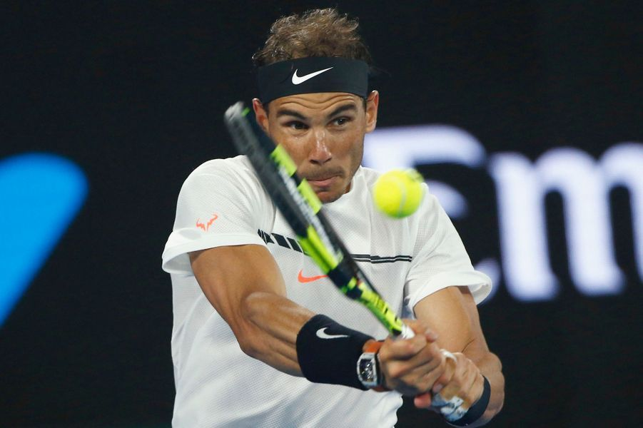 Rafael Nadal a résisté face à la furia du Suisse