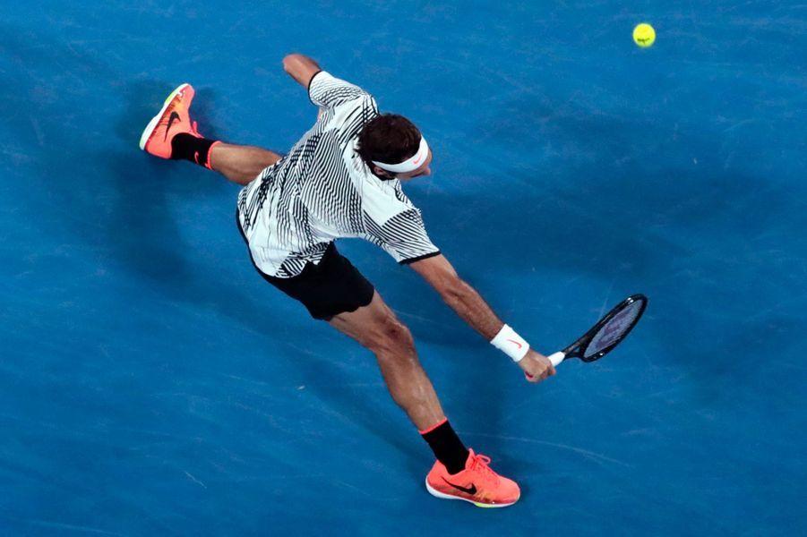 Roger Federer impérial en défense