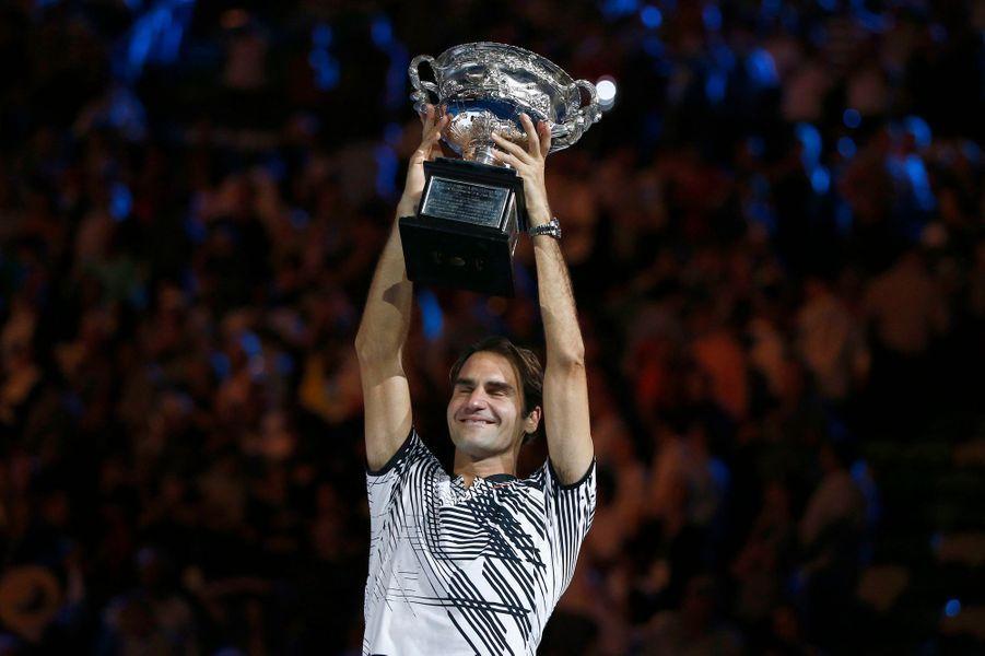 Roger Federer remporte son cinquième Open d'Australie