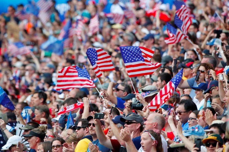 Dimanche, 20.000 supporters des Etats-Unis étaient attendus à Lyon...