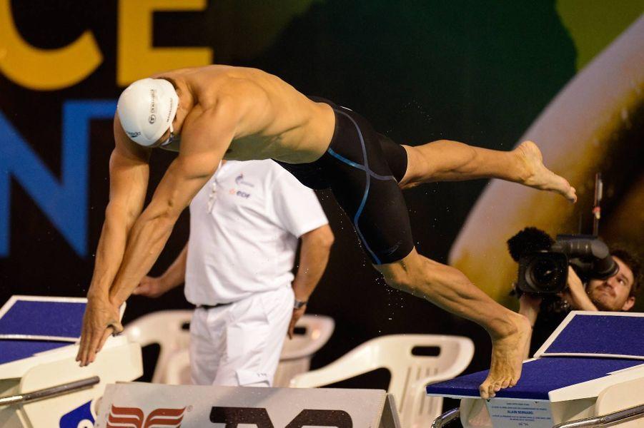 Florent Manaudou, le Superman de la natation française