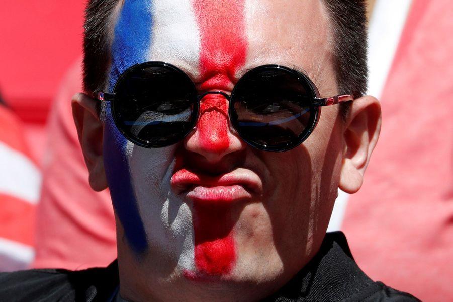 France-Australie : les irréductibles supporters gaulois étaient à Kazan