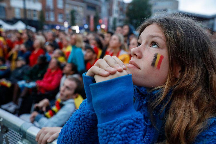 France-Belgique : la détresse des supporters belges