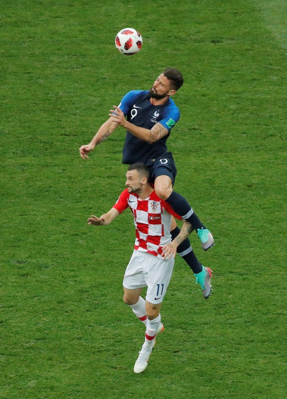 France Croatie : La Finale De La Coupe Du Monde De Football En Direct Et En Photos ( 20