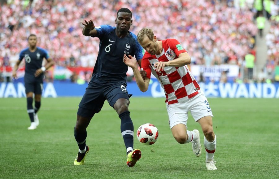France Croatie : La Finale De La Coupe Du Monde De Football En Direct Et En Photos ( 20
