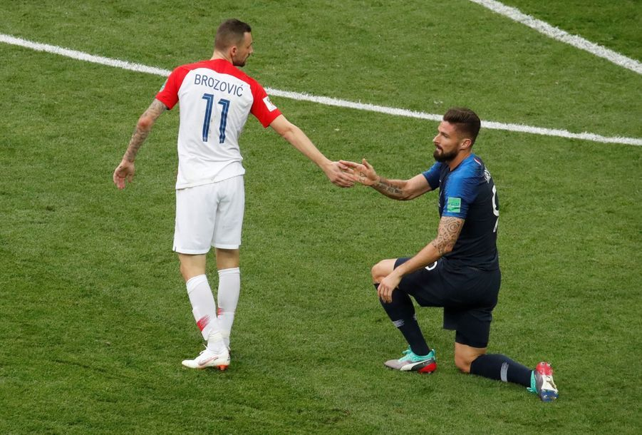 France Croatie : La Finale De La Coupe Du Monde De Football En Direct Et En Photos ( 22