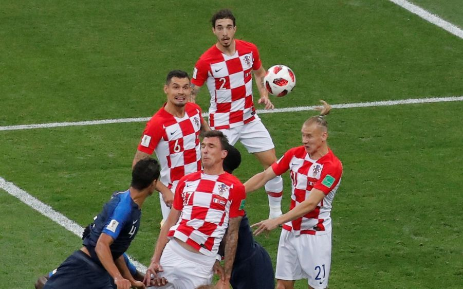 France Croatie : La Finale De La Coupe Du Monde De Football En Direct Et En Photos ( 44