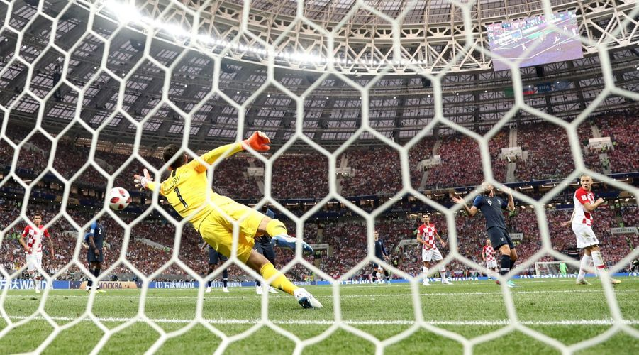 France Croatie : La Finale De La Coupe Du Monde De Football En Direct Et En Photos ( 46