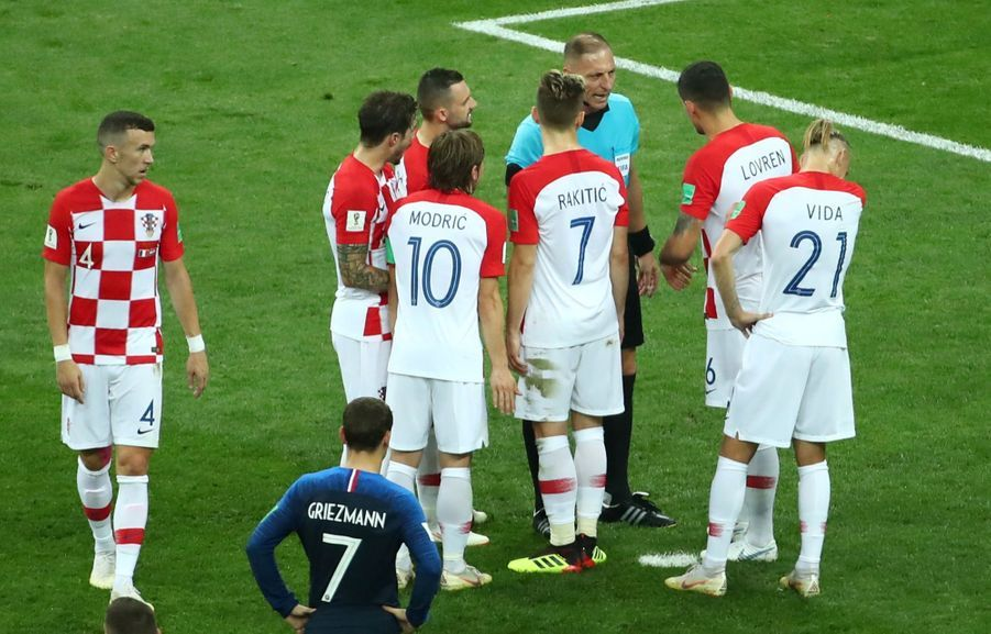 France Croatie : La Finale De La Coupe Du Monde De Football En Direct Et En Photos ( 51