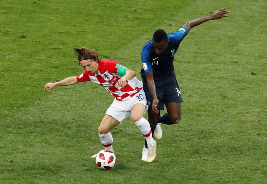 France Croatie : La Finale De La Coupe Du Monde De Football En Direct Et En Photos ( 58