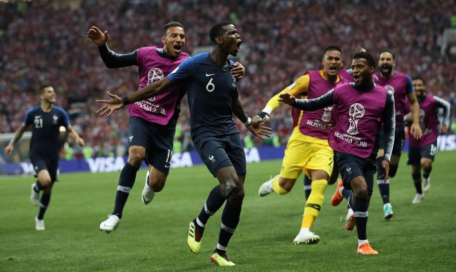 France Croatie : La Finale De La Coupe Du Monde De Football En Direct Et En Photos ( 76