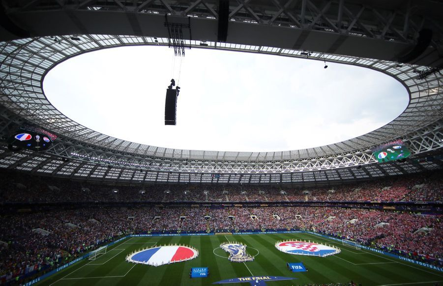 France Croatie : La Finale De La Coupe Du Monde De Football En Direct Et En Photos ( 8
