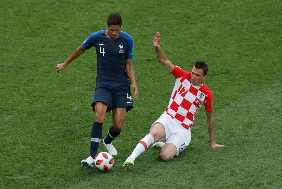 France Croatie : La Finale De La Coupe Du Monde De Football En Direct Et En Photos ( 9