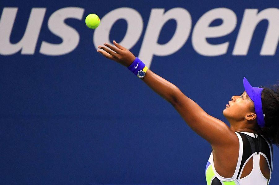 Naomi Osaka à l'US Open, le 8 septembre 2020.