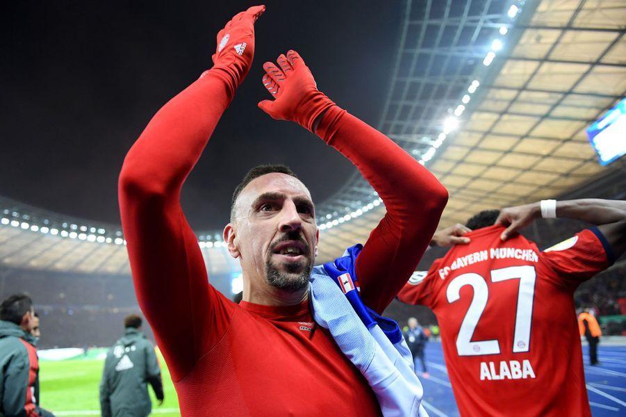 10. Franck Ribéry (football) 14,3 millions