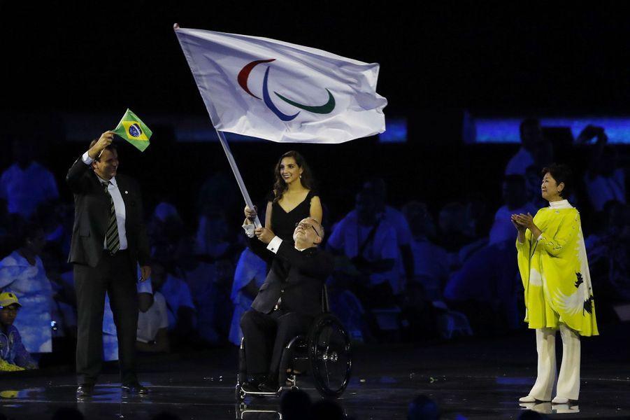 Le président du comité des Jeux paralympiques Philip Craven
