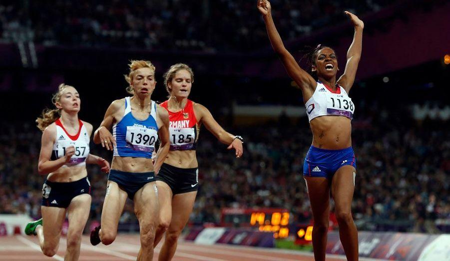 Elle est depuis dimanche soir championne paralympique du 100 mètres en catégorie T 37. La jeune femme de 22 ans est devenue hémiplégique après un AVC en décembre 2008.