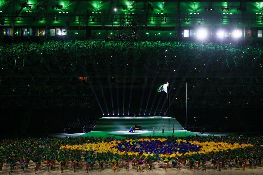 Jeux Paralympiques: les plus belles photos de la cérémonie d'ouverture