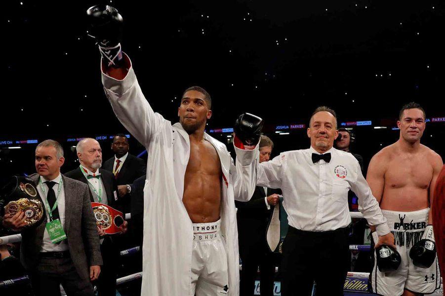 Joshua a triomphé sur Parker, au terme d'un match de 12 rounds.