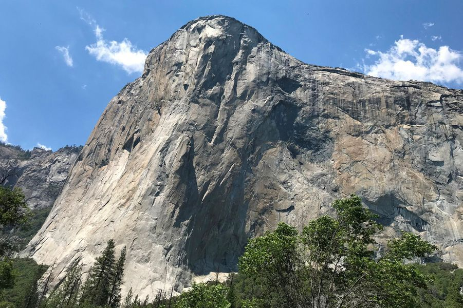 La falaise El Capitan, dans le Yosemite.