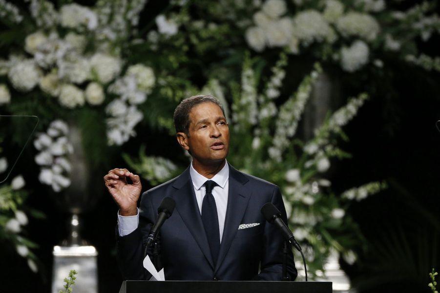 Bryant Gumbel assiste à l'hommage rendu à Mohamed Ali à Louisville, le 10 juin 2016.