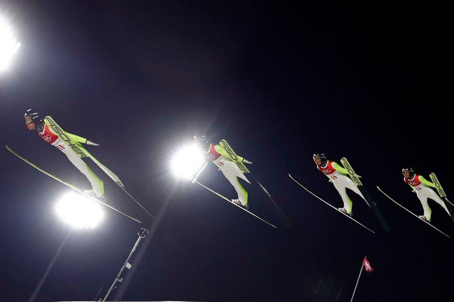 Stefan Kraftau saut à ski
