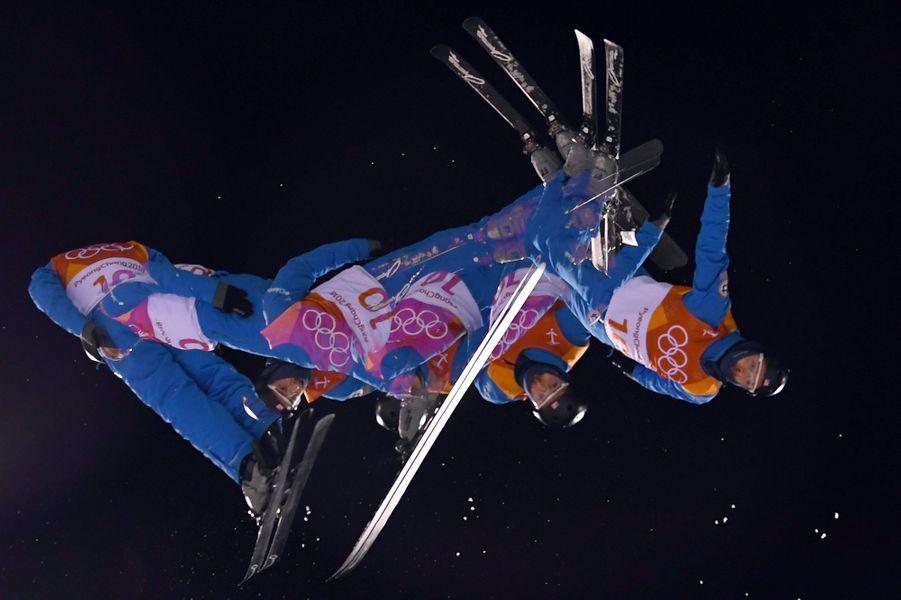 Jonathon Lillis en ski acrobatique