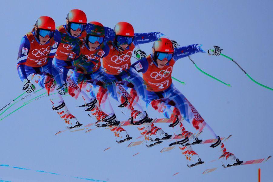 Petra Vlhova (Slovaque) en ski alpin