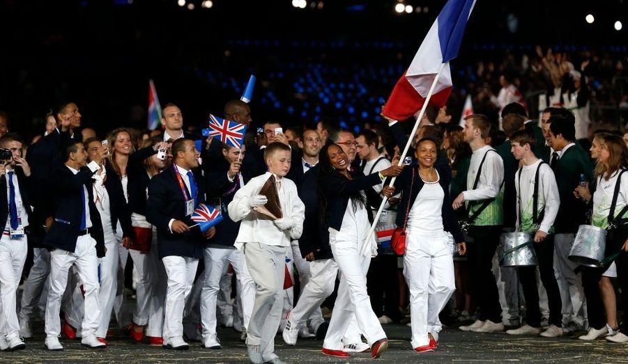 Un grand moment pour la championne d'escrime et les 330 athlètes français engagés.