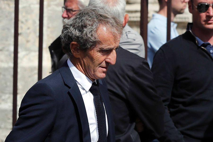 Alain Prostaux obsèques d'Anthoine Hubert à Chartres, le 10 septembre 2019.