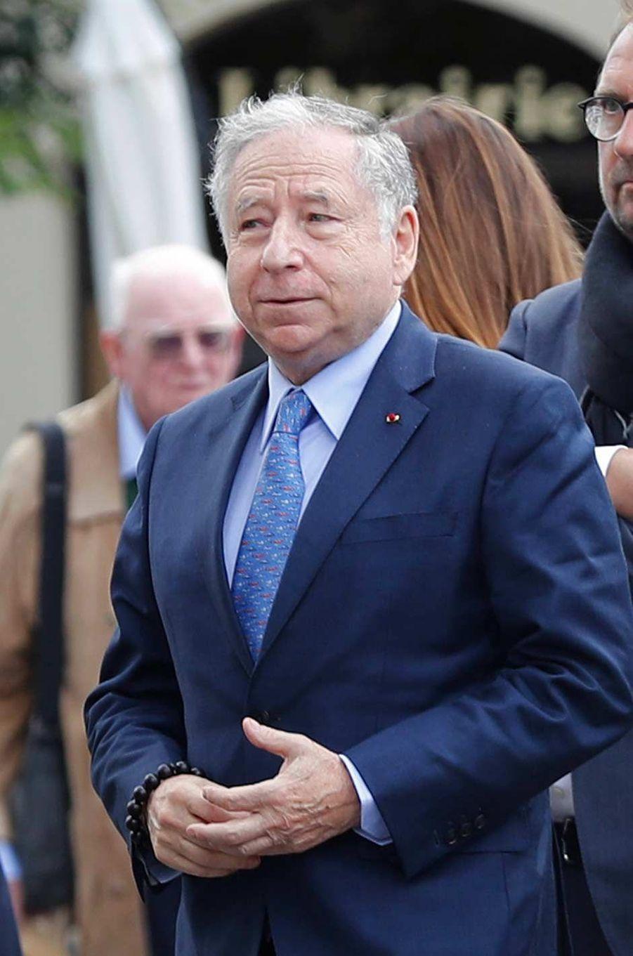 Jean Todtaux obsèques d'Anthoine Hubert à Chartres, le 10 septembre 2019.
