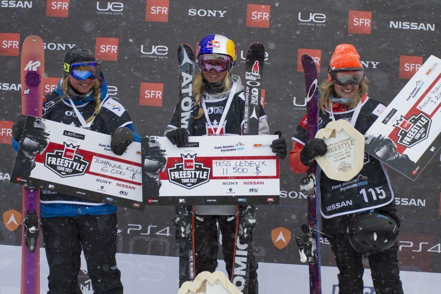La Française Tess Ledeux remporte la compétition