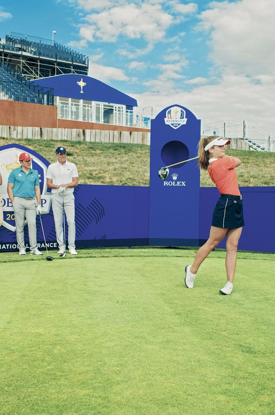 Petite démonstration par Mathilde Claisse, l'une des golfeuses les plus prometteuses de sa génération.