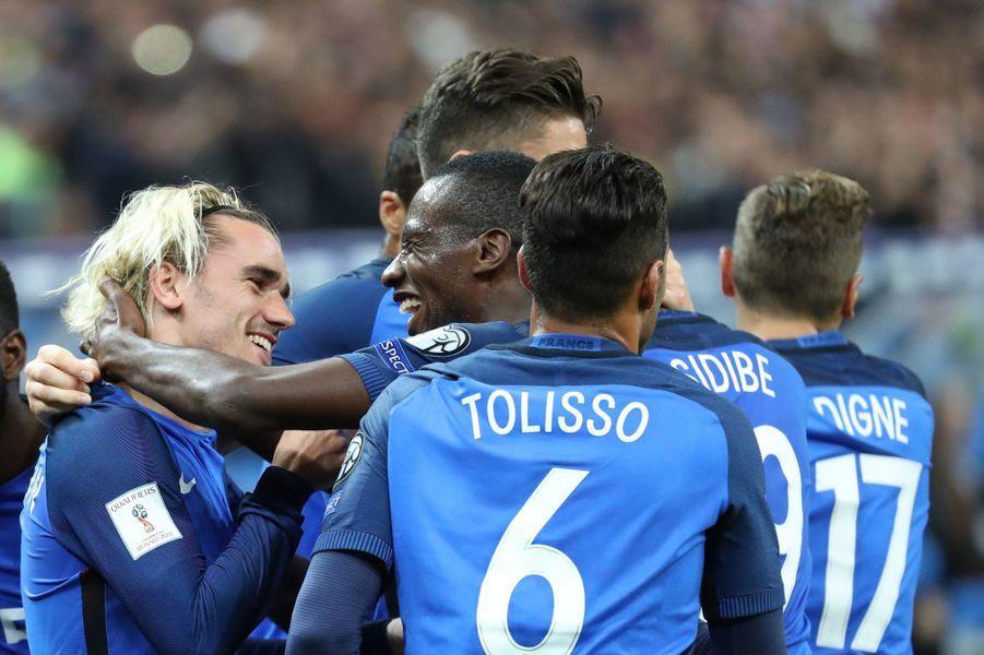 Antoine Griezmann a inscrit le premier but des Bleus.
