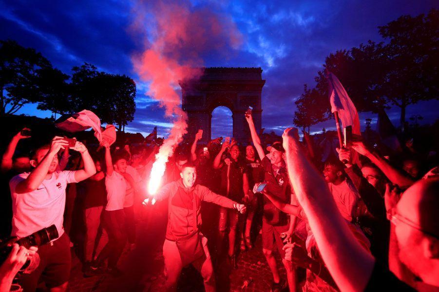 La France en finale : le bonheur des supporters de Paris