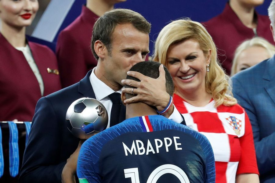 Macron mbappe