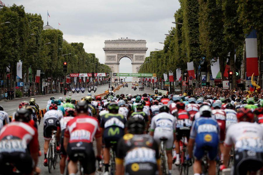 Les Champs-Elysées de Paris
