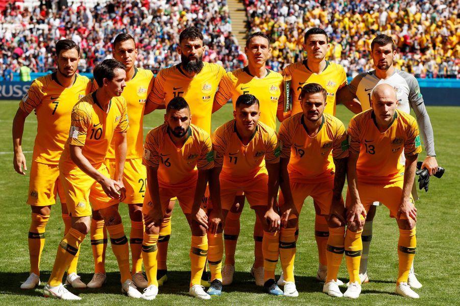 L'équipe d'Australie