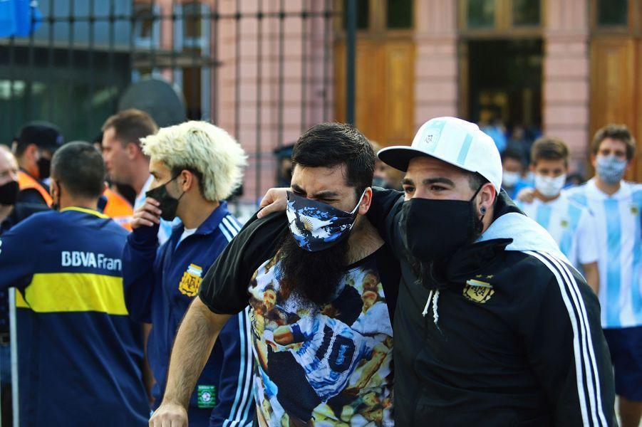 L'hommage ultime à Diego Maradona, jeudi, en Argentine.