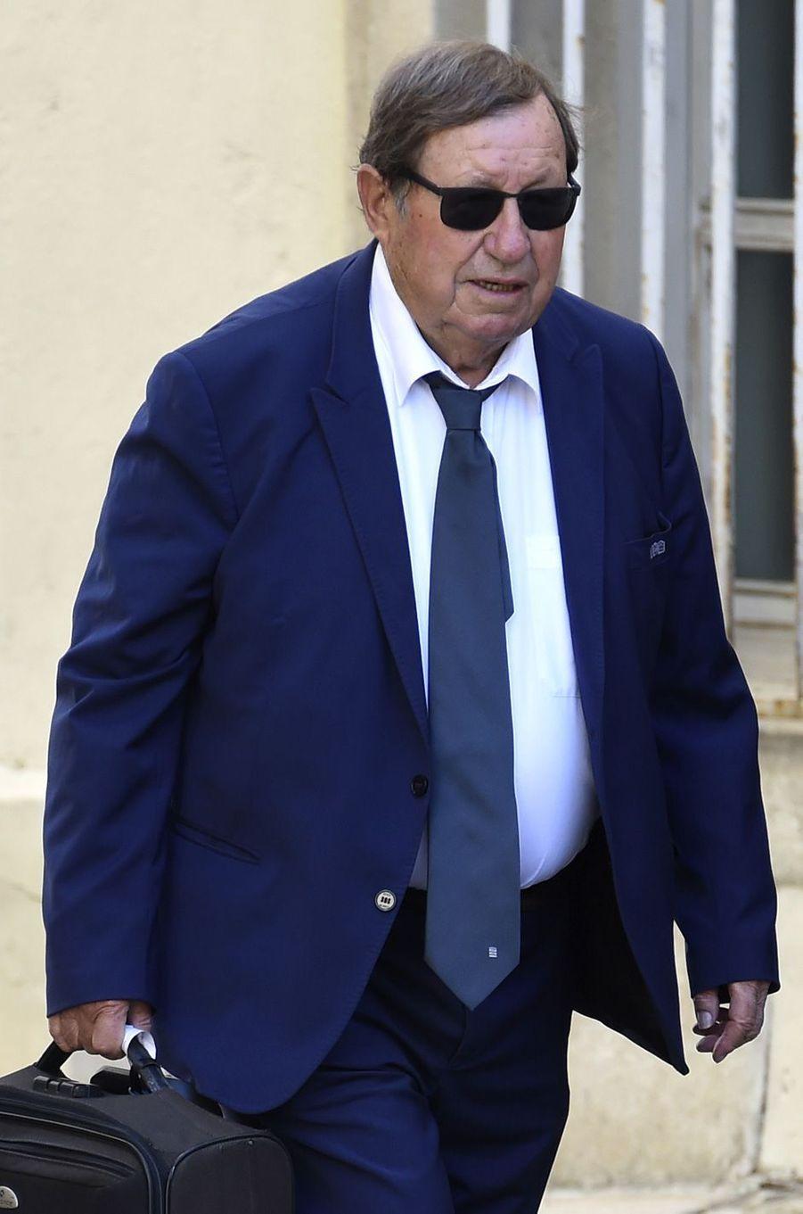 Guy Rouxaux obsèques de Louis Nicollinà Montpellier, le 4 juillet 2017.