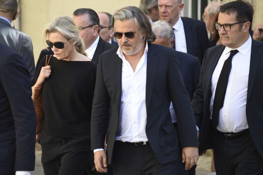 Vincent Labruneaux obsèques de Louis Nicollinà Montpellier, le 4 juillet 2017.