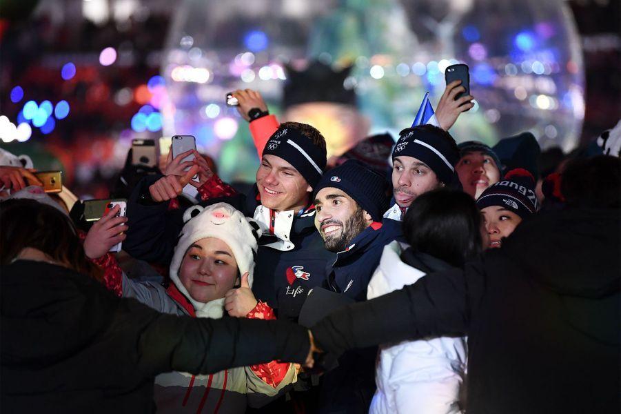 La délégation français a défilé une dernière fois à Pyeongchang.