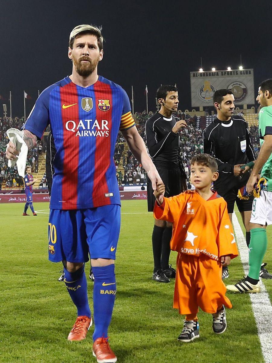 Le petit Murtaza a réalisé son rêve. Il a enfin rencontré Lionel Messi.