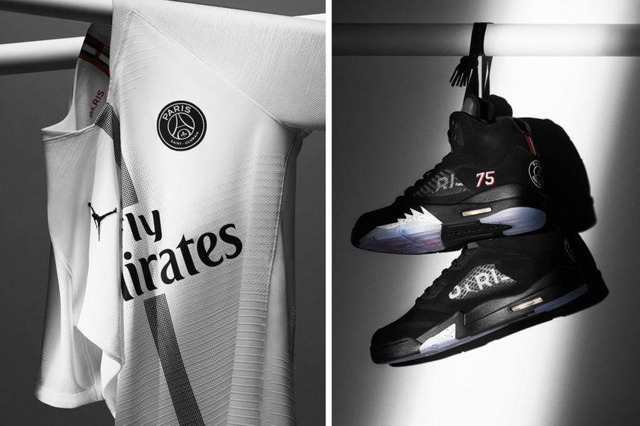 """Le PSG a signé un partenariat """"exclusif"""" sur trois ans avec la marque de sport Jordan."""