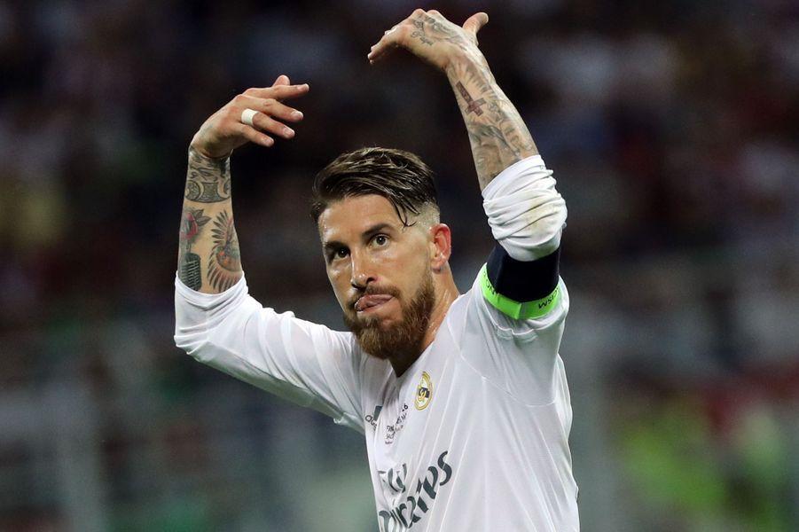 15e minute: Sergio Ramos ouvre le score